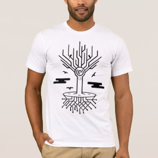Techno Baum T-Shirt