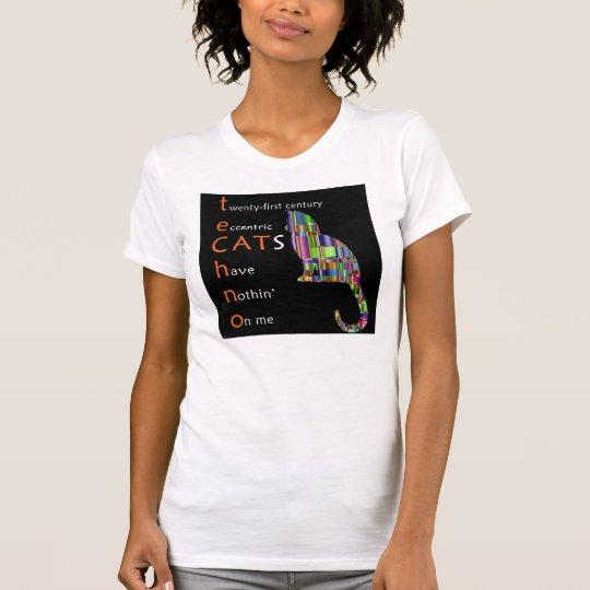 Techno Katze T-Shirt