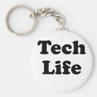 Technologie-Leben Schlüsselanhänger