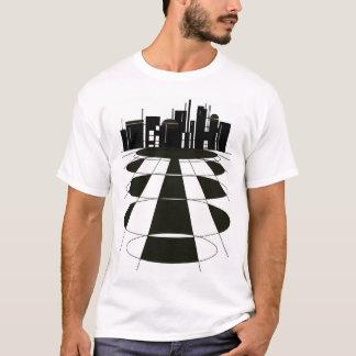 Technologie-Stadt T-Shirt