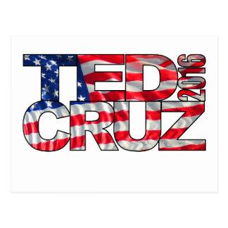 Ted Cruz 2016 (Flagge) Postkarte