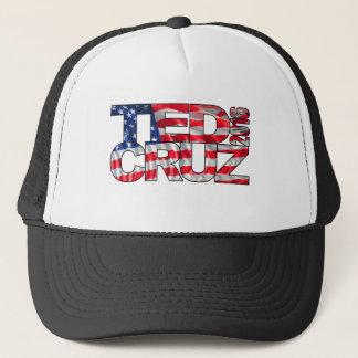 Ted Cruz 2016 (Flagge) Truckerkappe