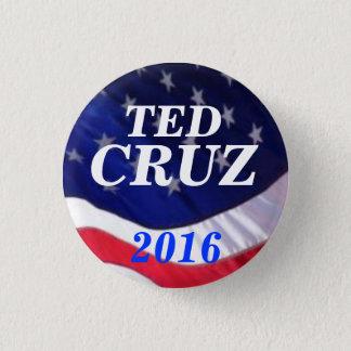 Ted Cruz 2016 Runder Button 2,5 Cm