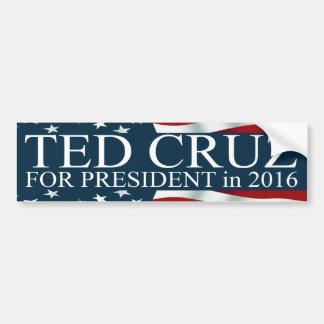 Ted Cruz für Präsidenten 2016 Autoaufkleber