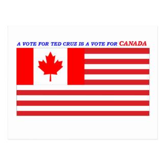 Ted Cruz für Präsidenten Postkarte