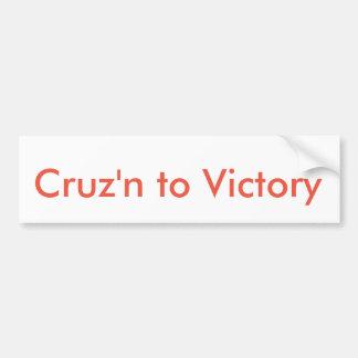 Ted Cruz für Präsidenten Sticker Autoaufkleber