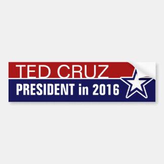 Ted Cruz im Jahre 2016 Autoaufkleber