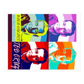 Ted Cruz: Mutige Farben, keine blassen Pastelle Postkarte