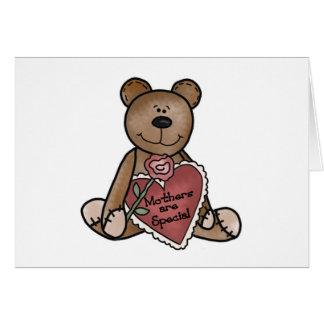 Teddy-Bärn-Mütter sind spezielle T - Shirts und Karte