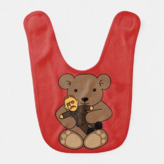 Teddy-Liebe Babylätzchen