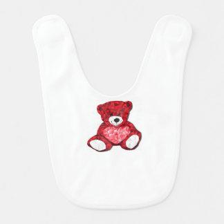Teddybär-Baby-Schellfisch Babylätzchen