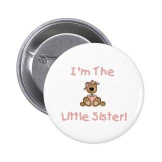 Teddybär-kleine Schwester Runder Button 5,7 Cm