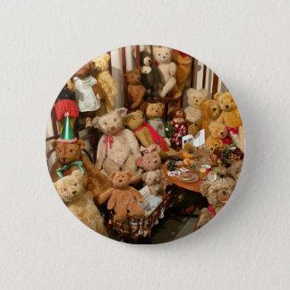 Teddybär-Kollektor-Paradies Runder Button 5,1 Cm