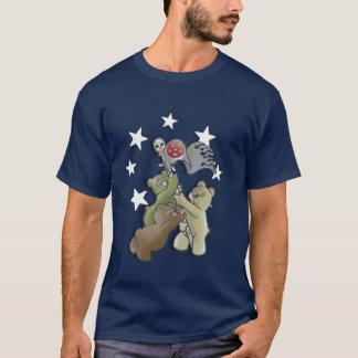 Teddybär-Metall Iwojima Memmorial T-Shirt