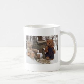 Teddybär-Paare mit Inuksuk Kaffeetasse