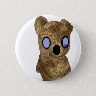 Teddybär Runder Button 5,1 Cm