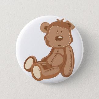 Teddybär Runder Button 5,7 Cm