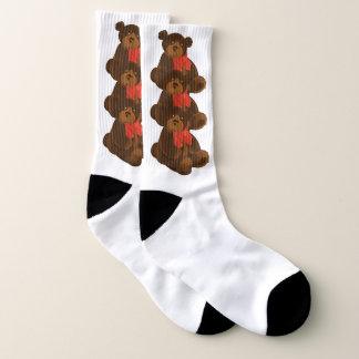 Teddybär Socken