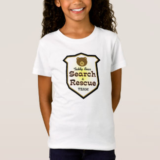 Teddybär-Suche und Rettungsmannschaft T-Shirt