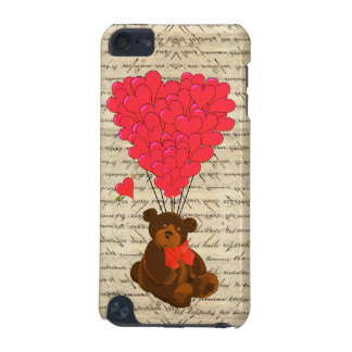 Teddybär und Herz iPod Touch 5G Hülle