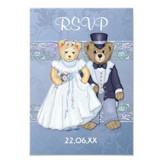 Teddybär Wedding UAwg-ver 2 Karte