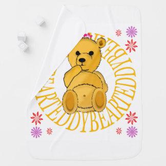 Teddybär-Wurfs-Decke Babydecke