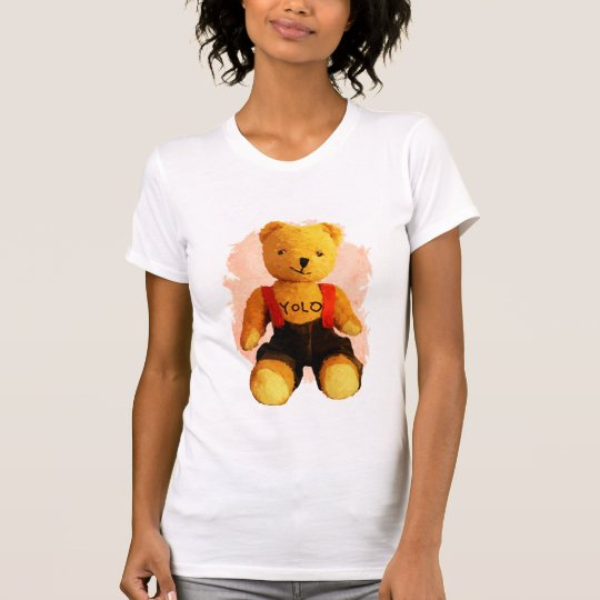 Teddybär Yolo T-Shirt