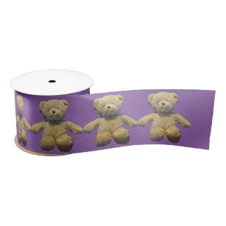 Teddybären Satinband