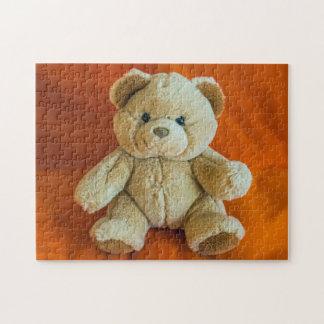 Teddybärn-Fotopuzzlespiel