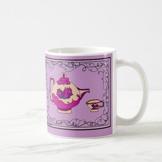 Tee für vier kaffeetasse