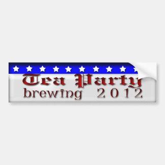Tee-Party-Brauen Auto Sticker