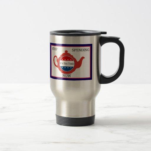 Tee-Party-politische Tasse - es ist Tee-Zeit!