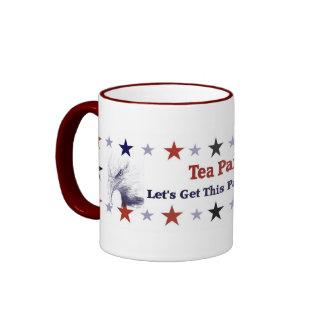 Tee-Party-politischer Gang Ringer Tasse