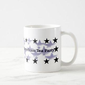 Tee-Party-politischer Gang Kaffeetassen