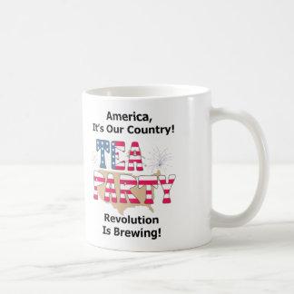 Tee-Party: Revolution braut! Tasse