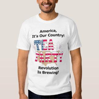 Tee-Party: Revolution braut! Tshirts