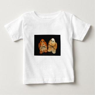 Tee - shirt jumeau de nourrisson de singes tee-shirt