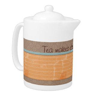 Tee stellt alles besseren Teekanne-Tee-Topf her