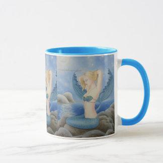 "Tee-Tasse ""Meerjungfrauen hüten"" Tasse"