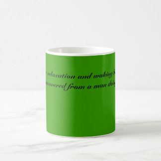 Teeblätter, TEE. Das Entspannung und das wecken Tasse