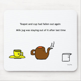 Teekanne Mousemat Mousepad