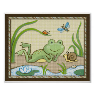 Teich-Freunde, Wiggle-Wanzen, Poster