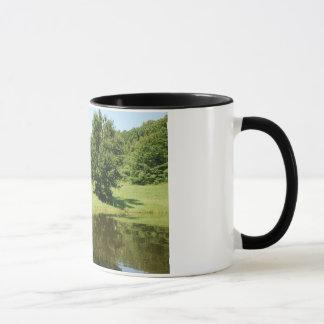 Teich-Kaffee-Tasse Tasse