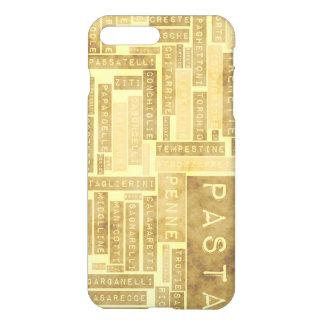 Teigwaren-Arten und sortierte Vielzahl von iPhone 8 Plus/7 Plus Hülle