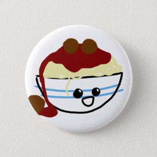 Teigwaren u. Fleischklöschen Runder Button 5,1 Cm