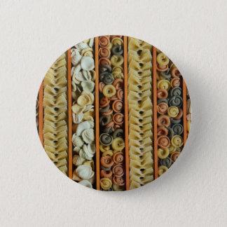 Teigwarennudelphotographie Runder Button 5,1 Cm