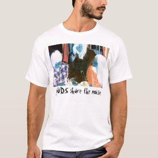 Teilen Sie die Geräusche T-Shirt
