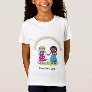 Teilen Sie die Liebe - Gleichheit für alle T-Shirt