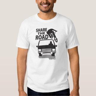 Teilen Sie die Straße (BMX Art) Hemden