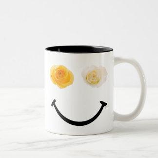 Teilen Sie eine Ton-Tasse der Zweifarbige Tasse